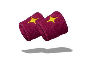 Purple StarVie Padel Wristbands