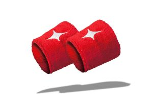 Red StarVie padel Wristbands