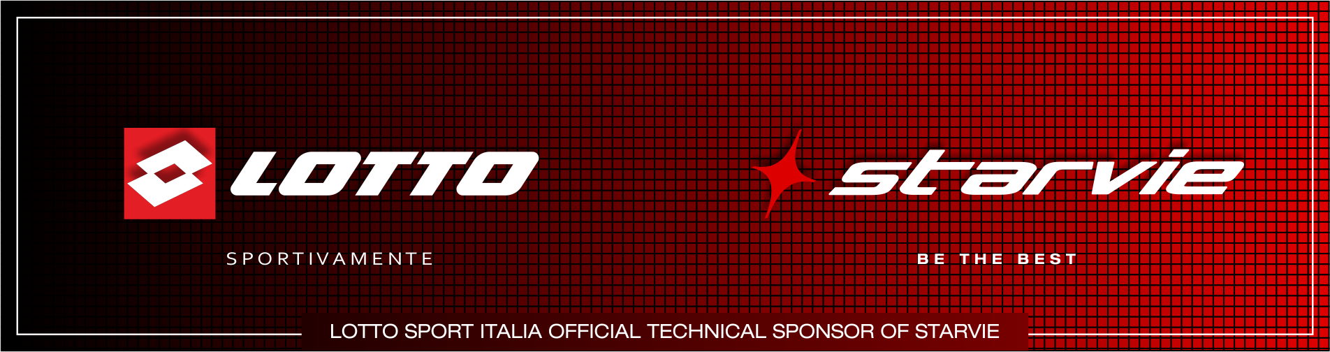 Lotto Sport Italia Official Technical Sponsor of StarVie