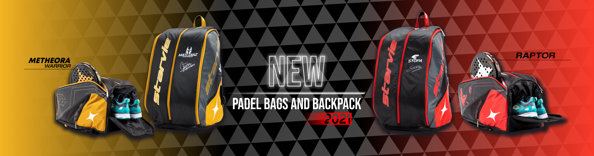 Padel Bags and Backpacks Collection StarVie