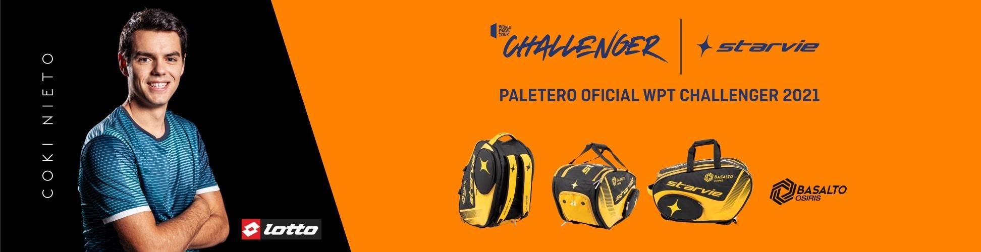 StarVie paletero oficial WPT Challenger 2021