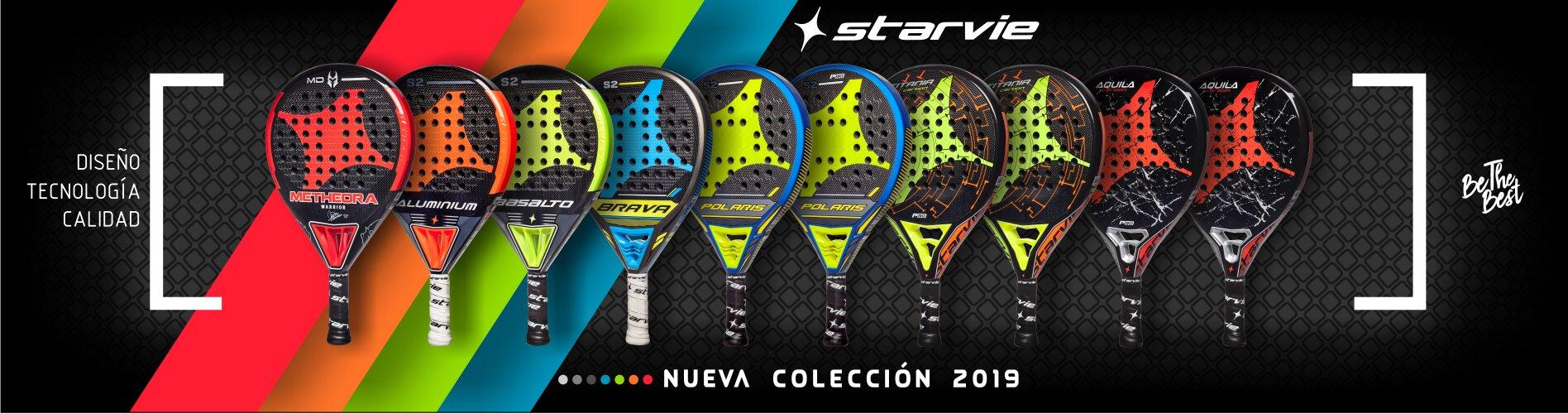 Colección 2019 de palas de pádel - StarVie