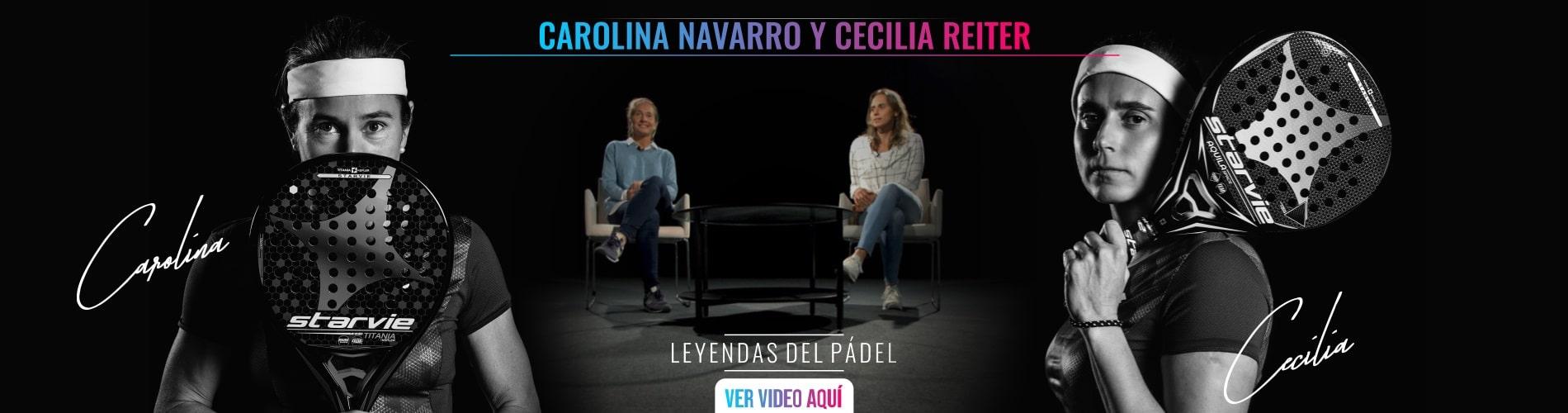 Documental padel Carolina Navarro y Cecilia Reiter