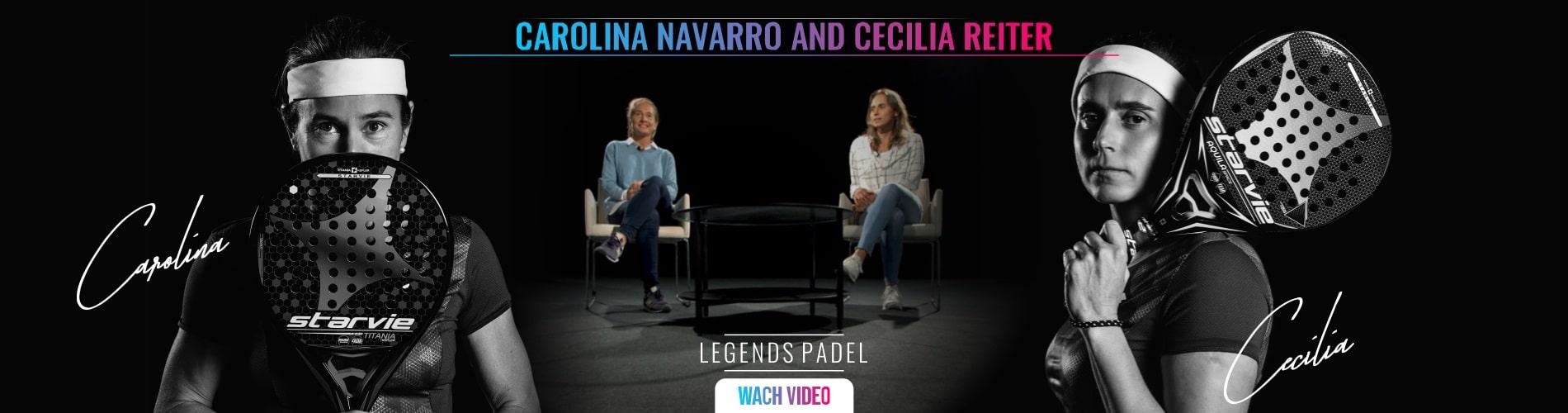 Documentary Carolina Navarro and Cecilia Reiter. Leyendas del padel