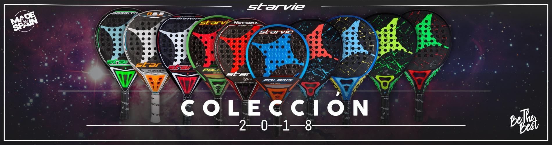 Colección 2018 Palas de Pádel StarVie