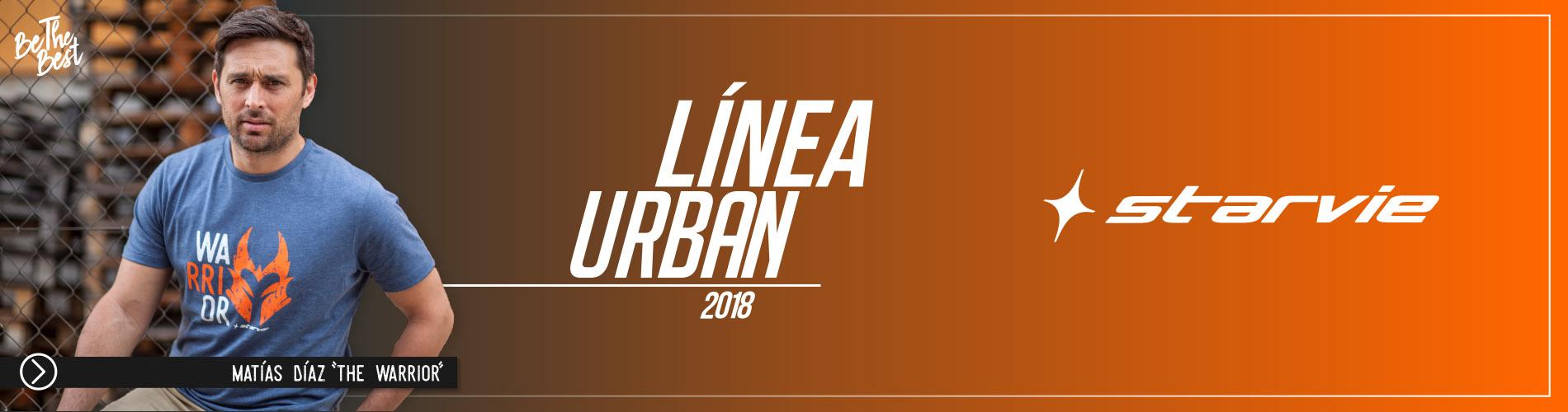 Linea Urban de pádel StarVie