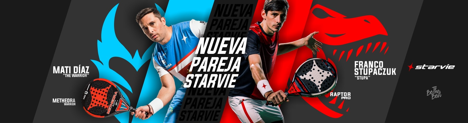 Nueva pareja StarVie - Matias Diaz - Franco Stupaczuk