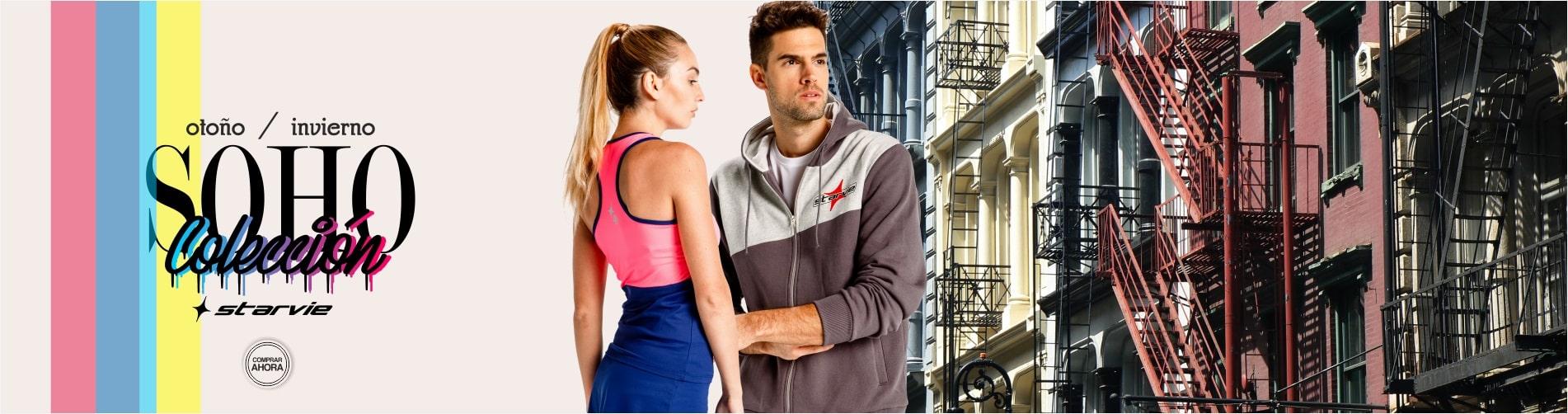 Nueva coleccion ropa hombre y mujer padel StarVie