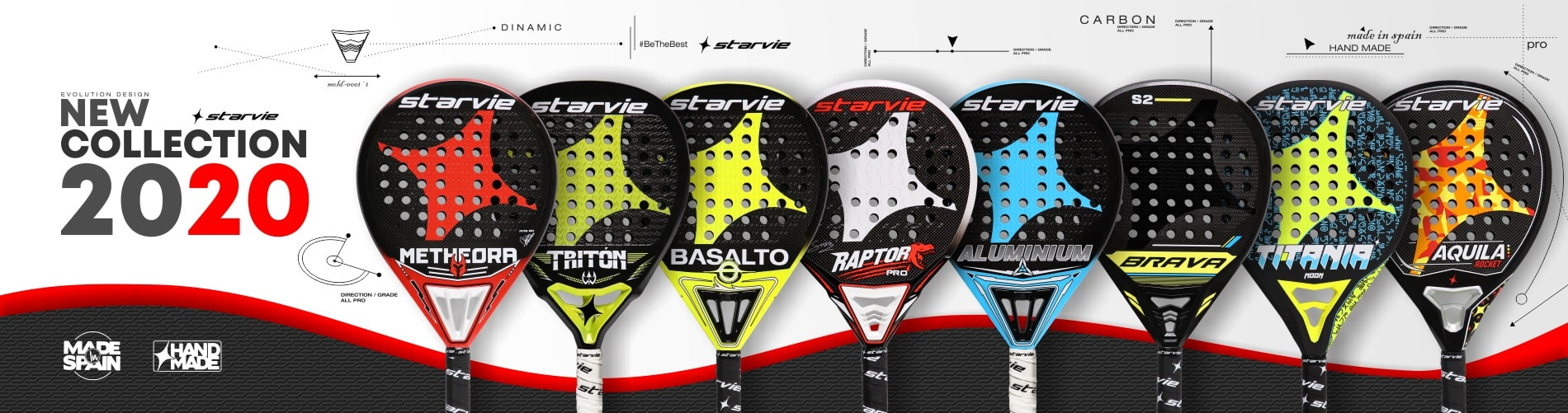 Padel Rackets - Collection 2020 - StarVie