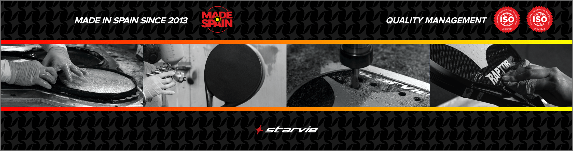 Made In Spain padel rackets StarVie