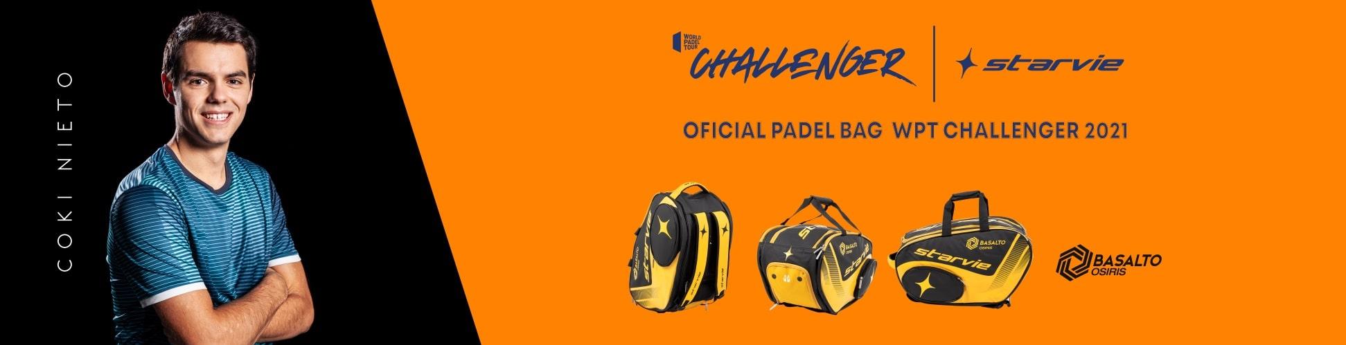 STARVIE, OFFICIAL RACKET-BAG SPONSOR OF WPT CHALLENGER 2021