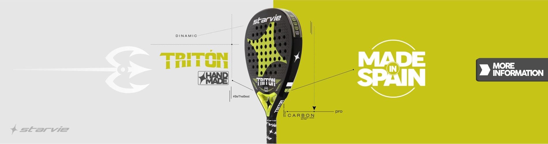 Triton StarVie padel racket