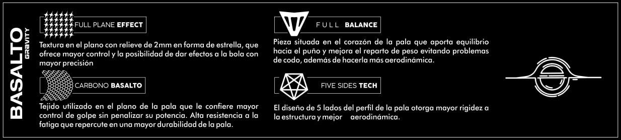 Basalto Gravity StarVie tecnologias
