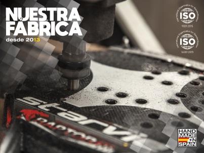 Fábrica StarVie palas de padel en España