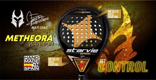 Metheora Warrior StarVie padel racket