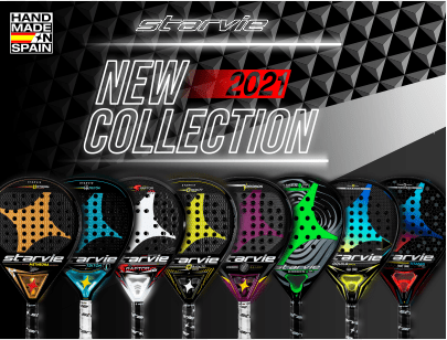 New collection padel rackets StarVie 2021
