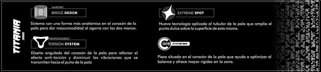Titania Moon StarVie tecnologias