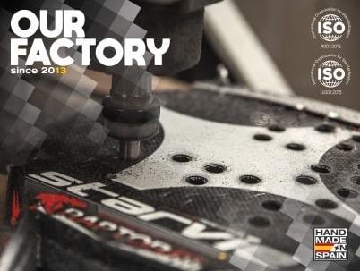 Padel rackets StarVie factory