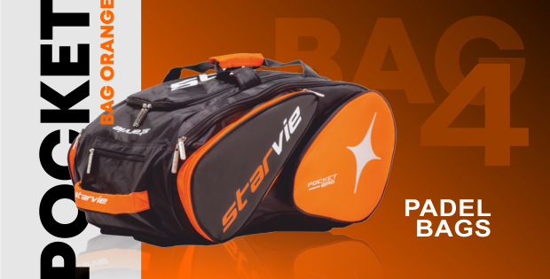 Four Pocket Padel Bags